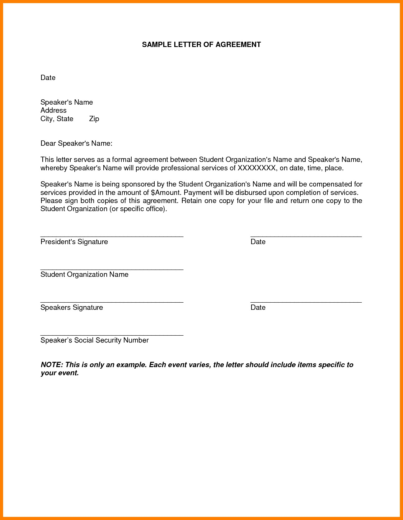 Personal Loan Payoff Letter Template Examples | Letter Template