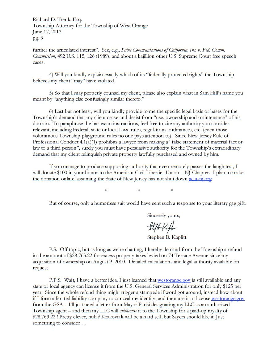 General Cease and Desist Letter Template - is This the Best Response to A Cease and Desist Letter Ever
