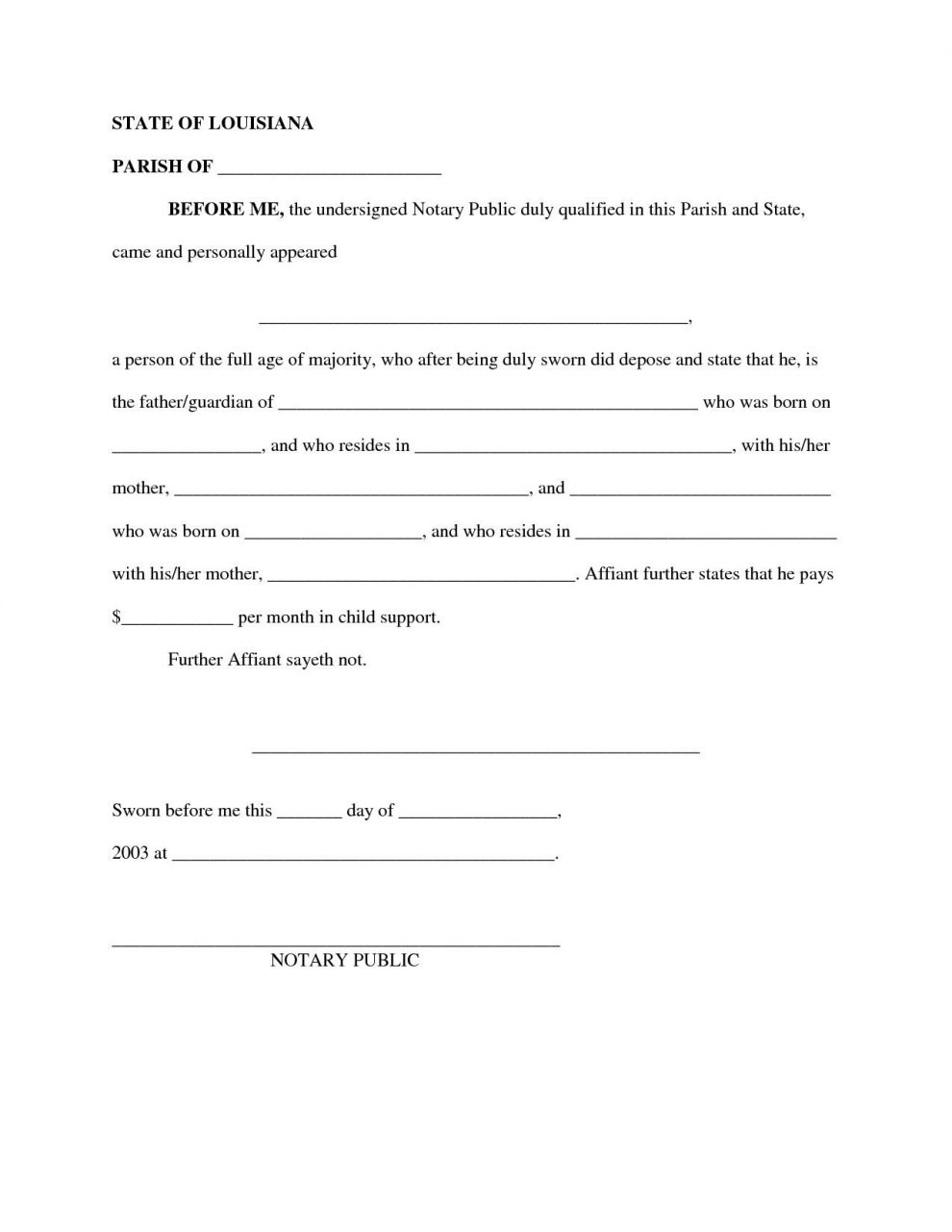 Child Maintenance Agreement Letter Template - It Support Contract Template with Child Support Agreement Sample Job