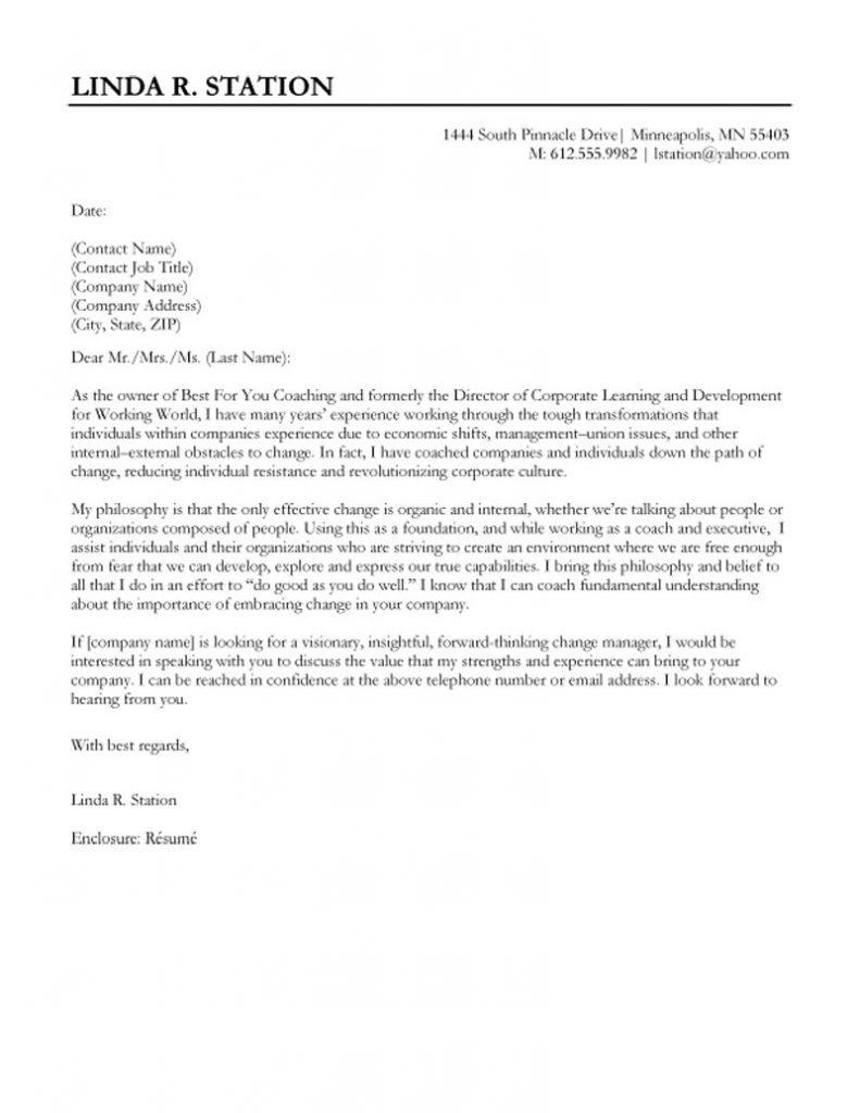 Cover Letter Sample For Job Application Template Samples Letter