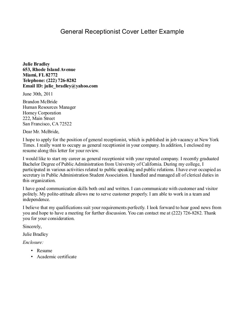 Cover Letter Template Pdf Free - Letter for Limarinemania