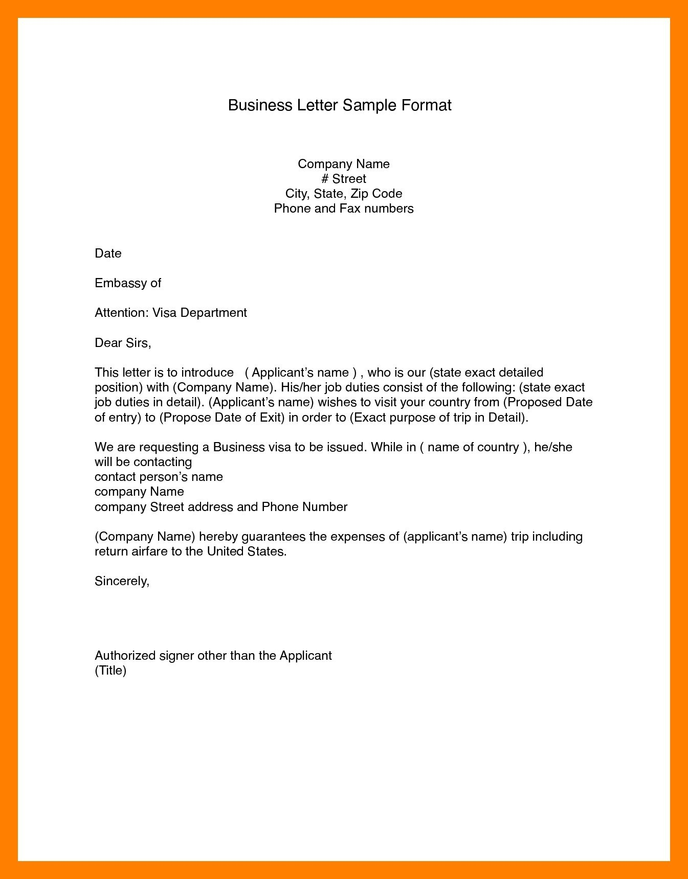 Modified Block Letter Template - Letter format Block Semi Block New Modified Block format Business