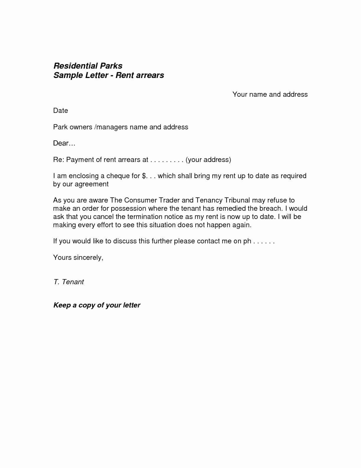 Termination Of Rental Agreement Letter Template - Letter format for Agreement Termination Refrence Contract