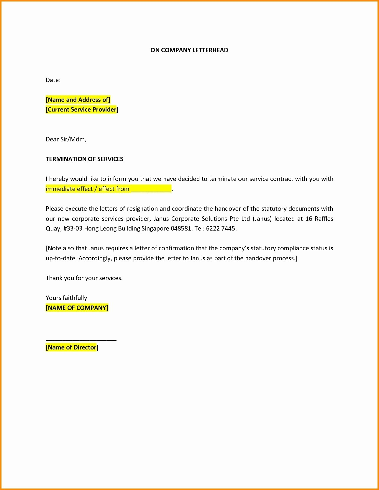 Insurance Cancellation Letter Template - Letter format for Cancellation Car Booking New Insurance