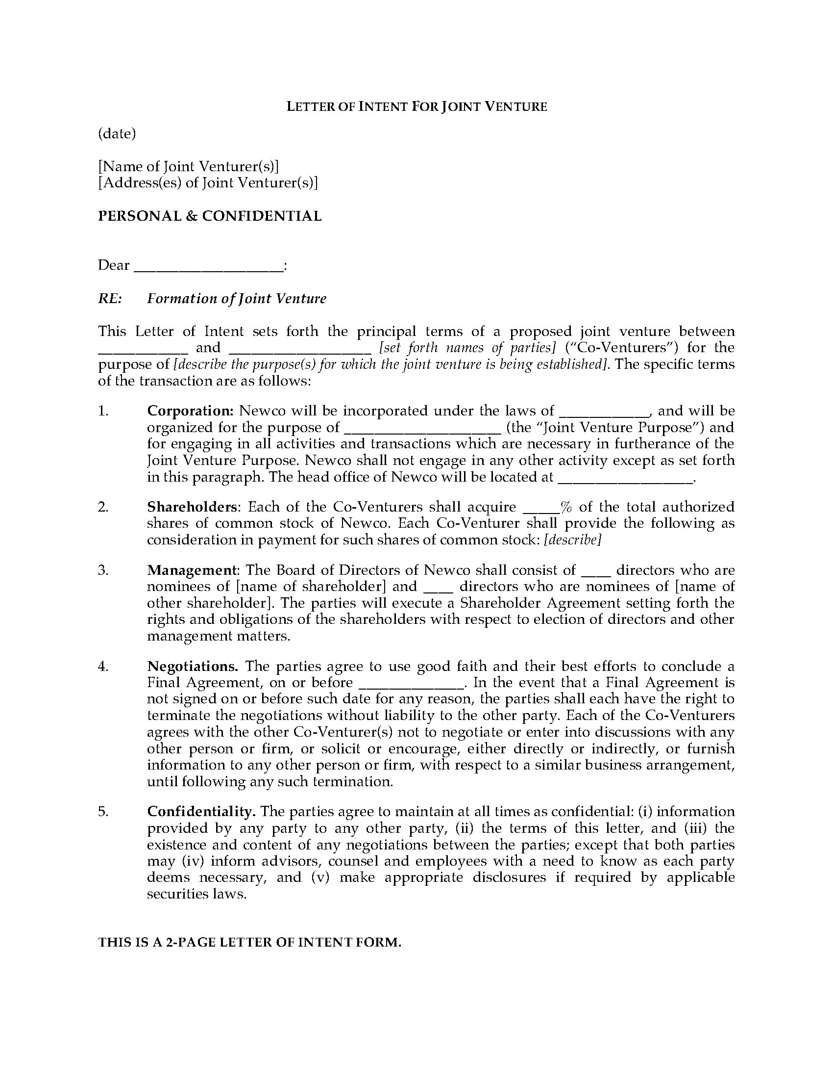joint venture letter of intent template example-Letter Intent Legal Definition s High To Form Joint Venture Forms And Business 4-e