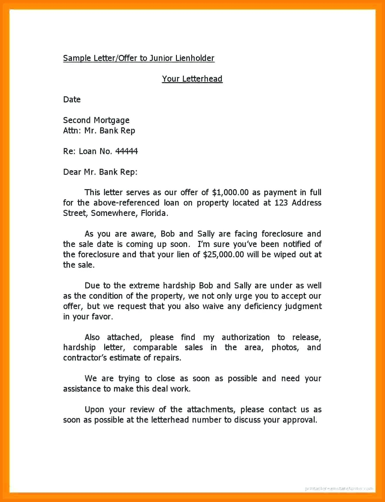 notice of lien letter template collection letter template collection