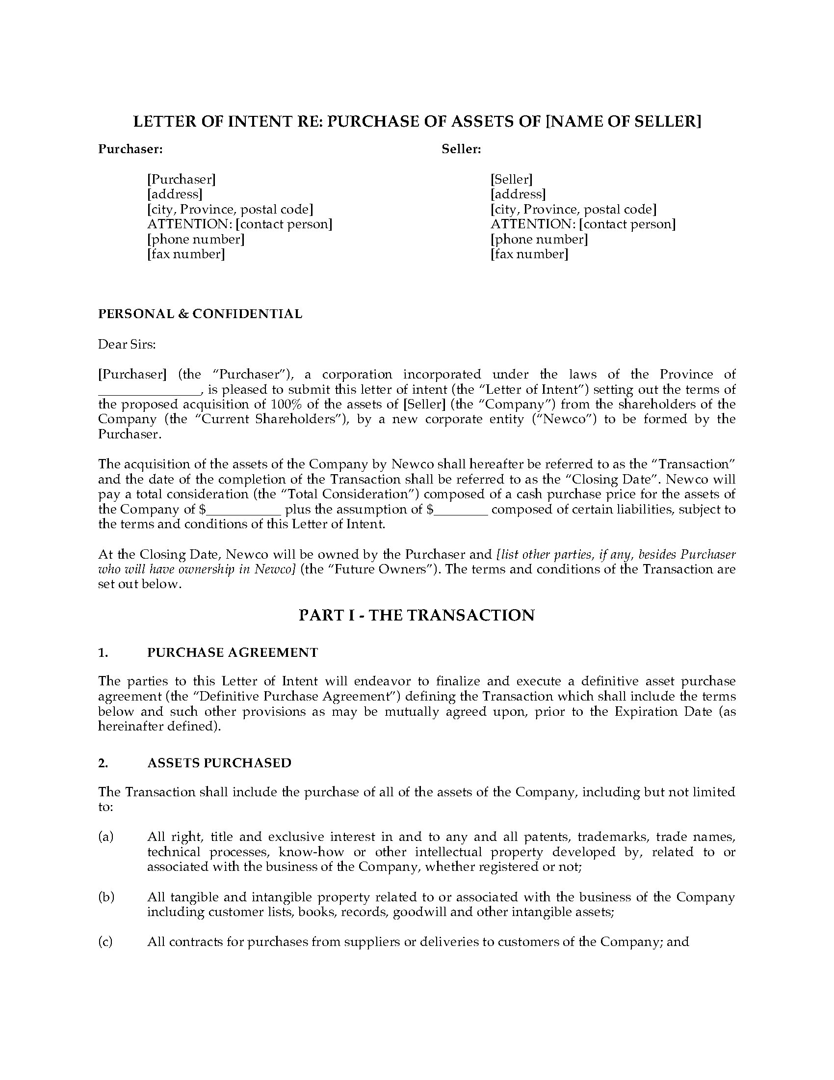 Letter of intent to purchase business template samples letter letter of intent to purchase business template letter intent to do business template business cards accmission Images