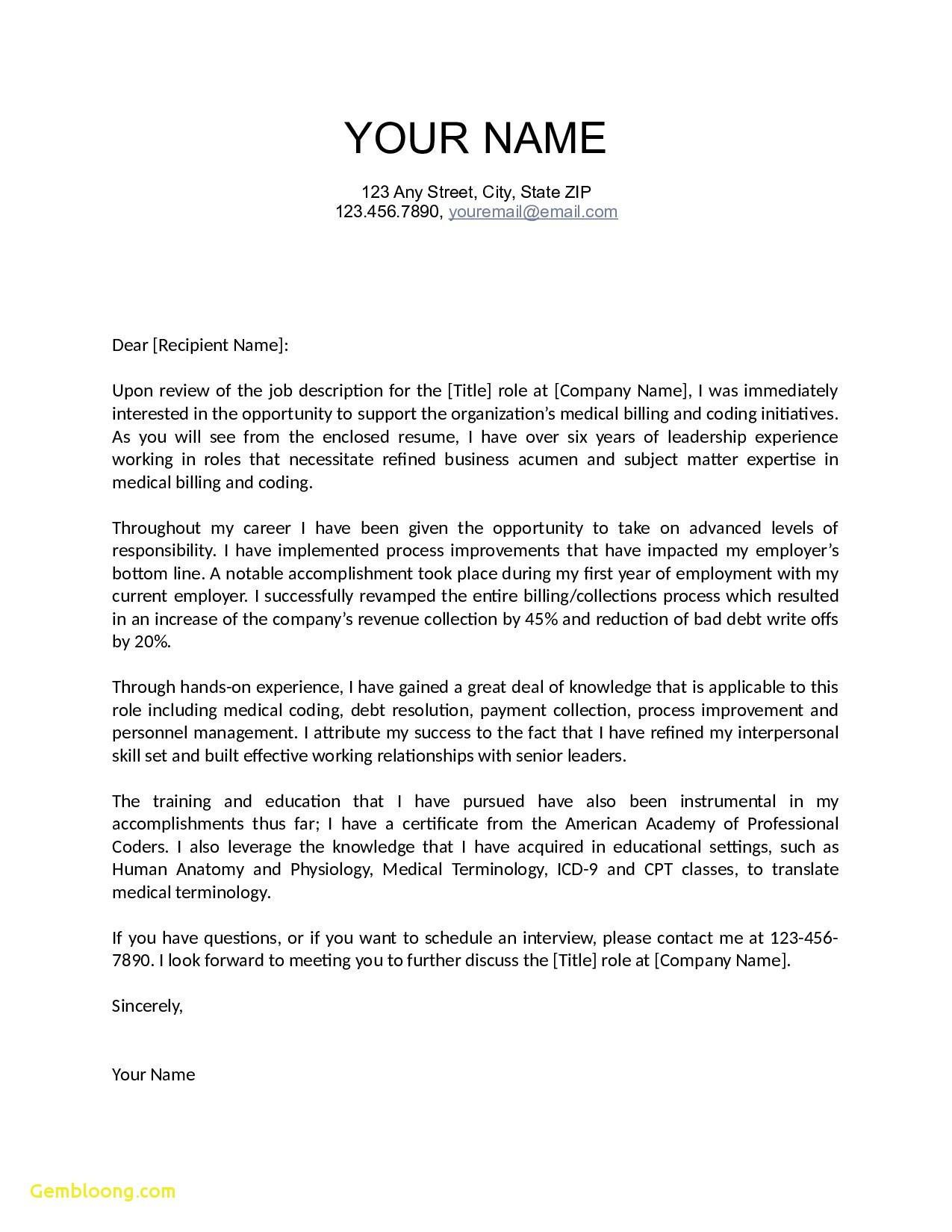Free Expired Listing Letter Template - Letter Interest Teaching