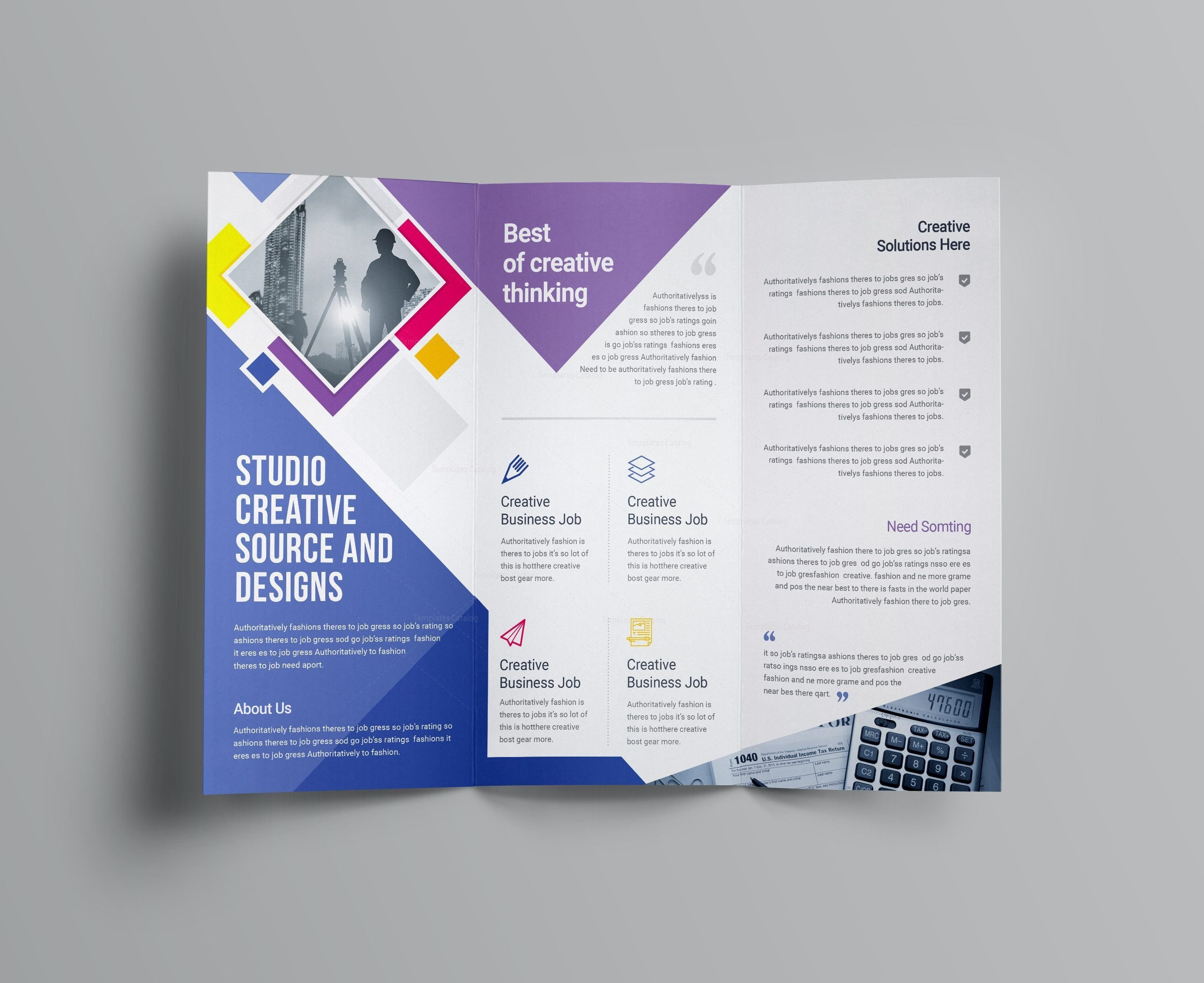 Tri Fold Letter Template - Letter Template Indesign Awesome Tri Fold Brochure Template Free
