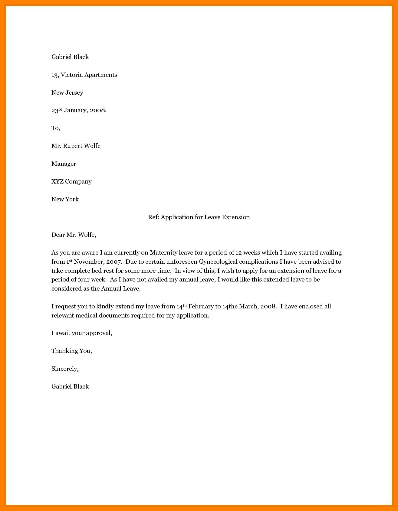 Pregnancy Confirmation Letter Template - Letter Template Maternity Leave Best Professional Letter format with