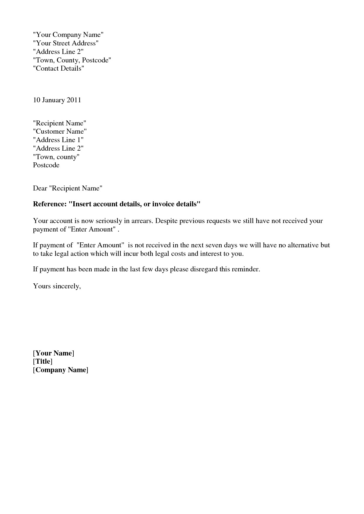 Final Notice before Legal Action Letter Template Uk - Letter Threatening Legal Action Template 22 Legal Demand Letter
