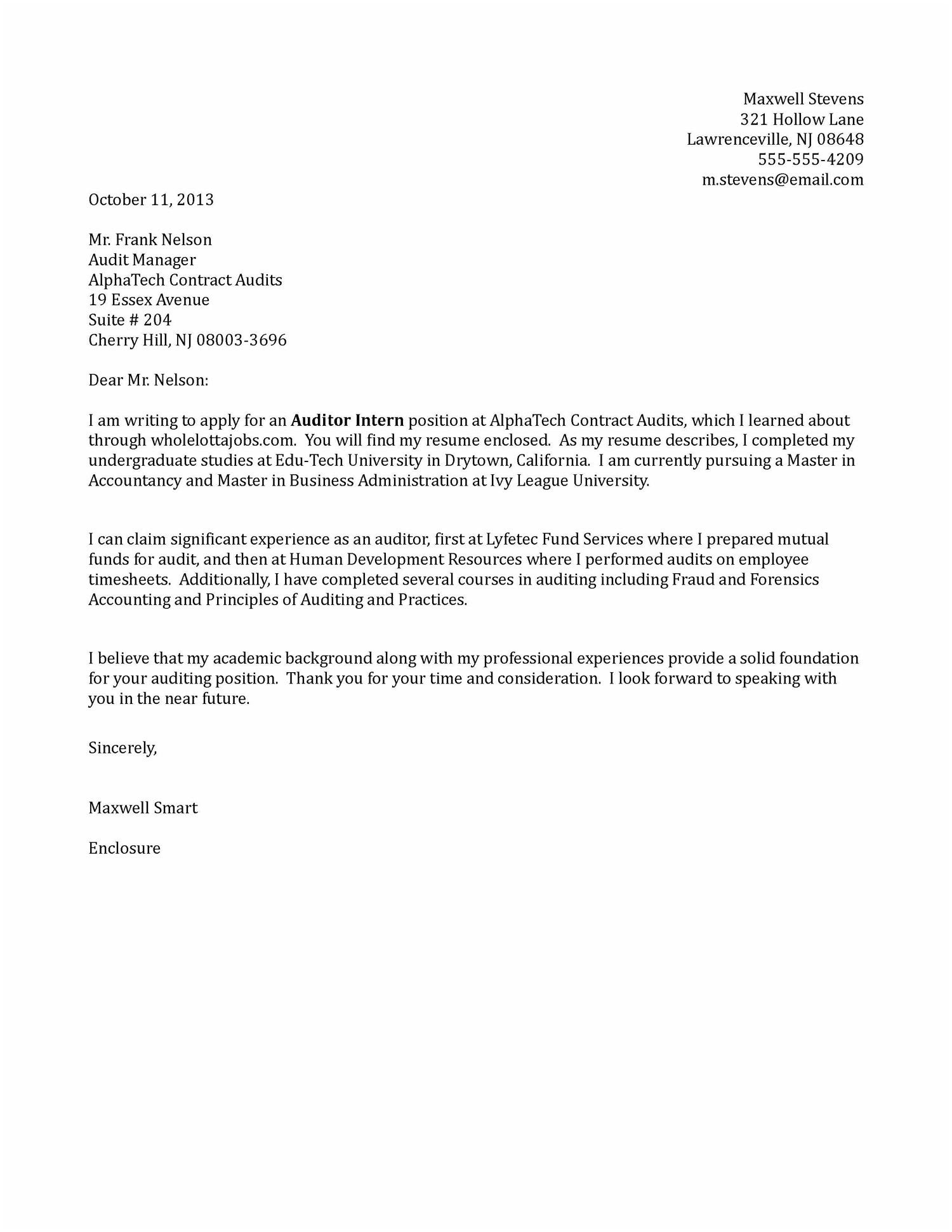 Letter to Congressman Template - Letter to Congressman