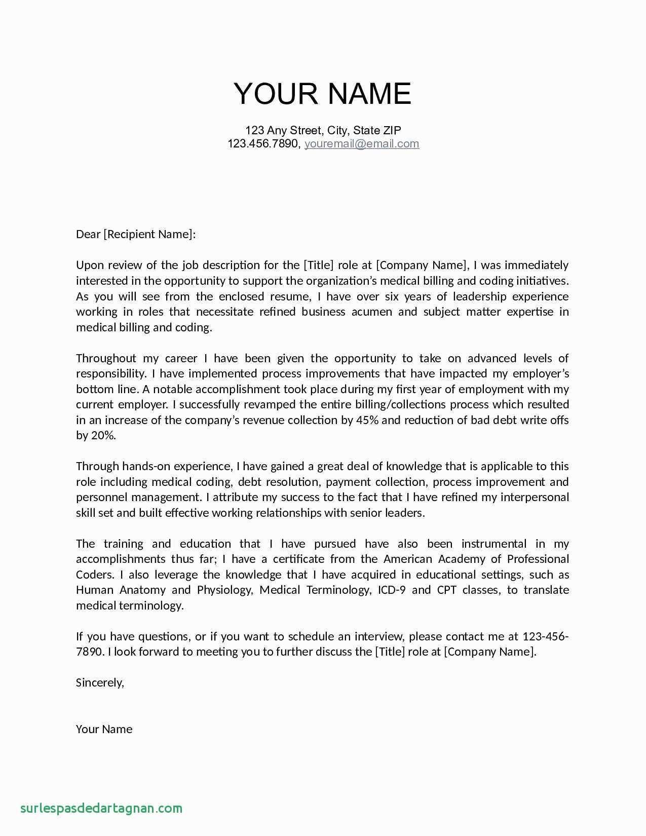 Letter Of Recommendation Template for Employee - Letters Re Mendation for Jobs Best Fresh Job Fer Letter