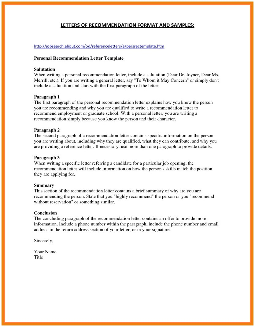 Medical School Letter Of Recommendation Template - Letters Re Mendation for Medical School 3 4 Letters Re