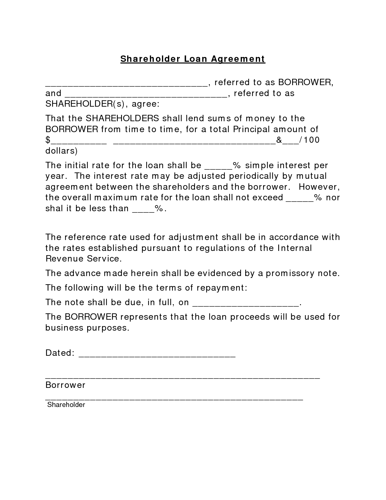 Promissory Letter Template - Loan Contracts Template Pt Lawencon Internasional Simple Loan