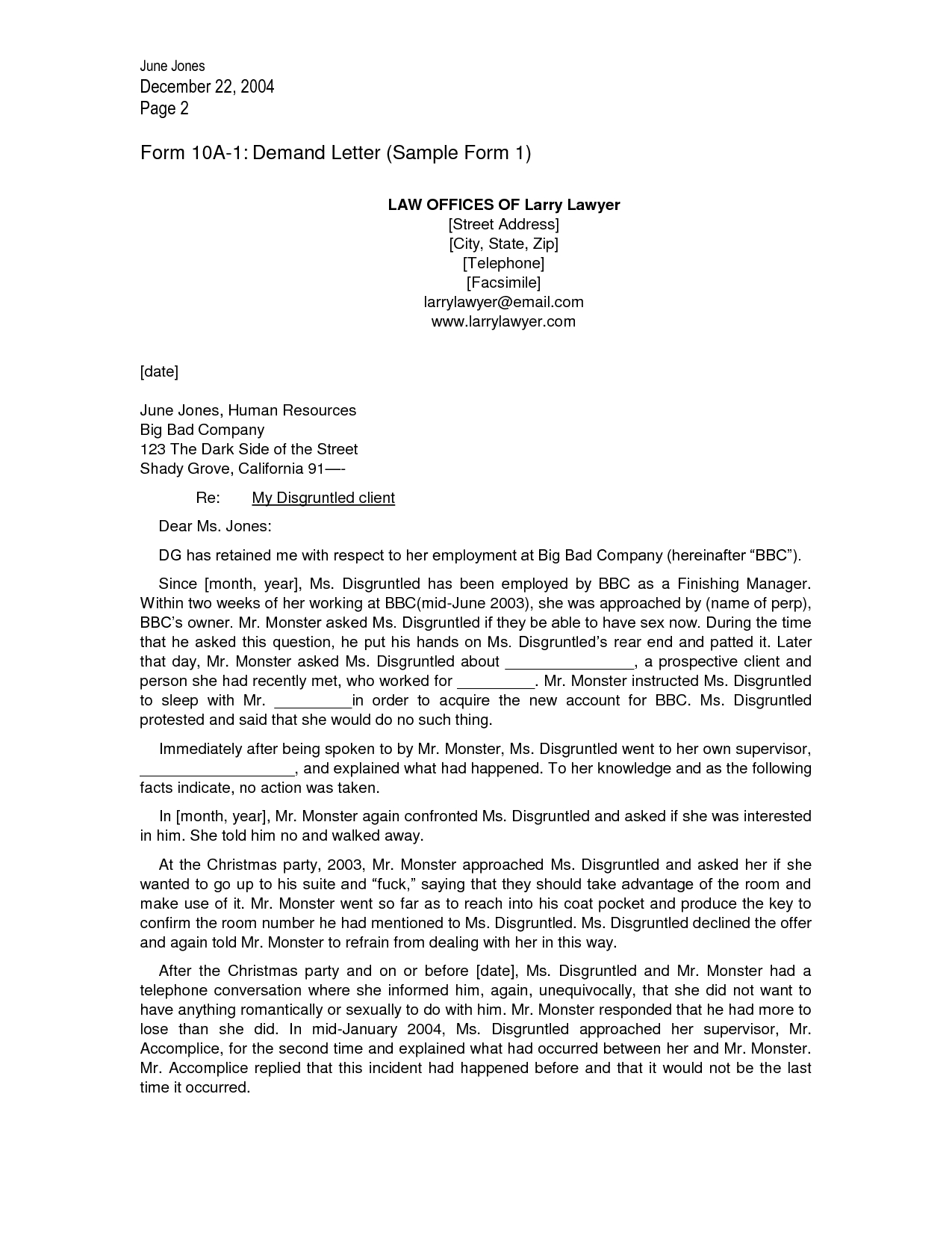 Law Firm Letter Template - Lovely Letter Outline Template