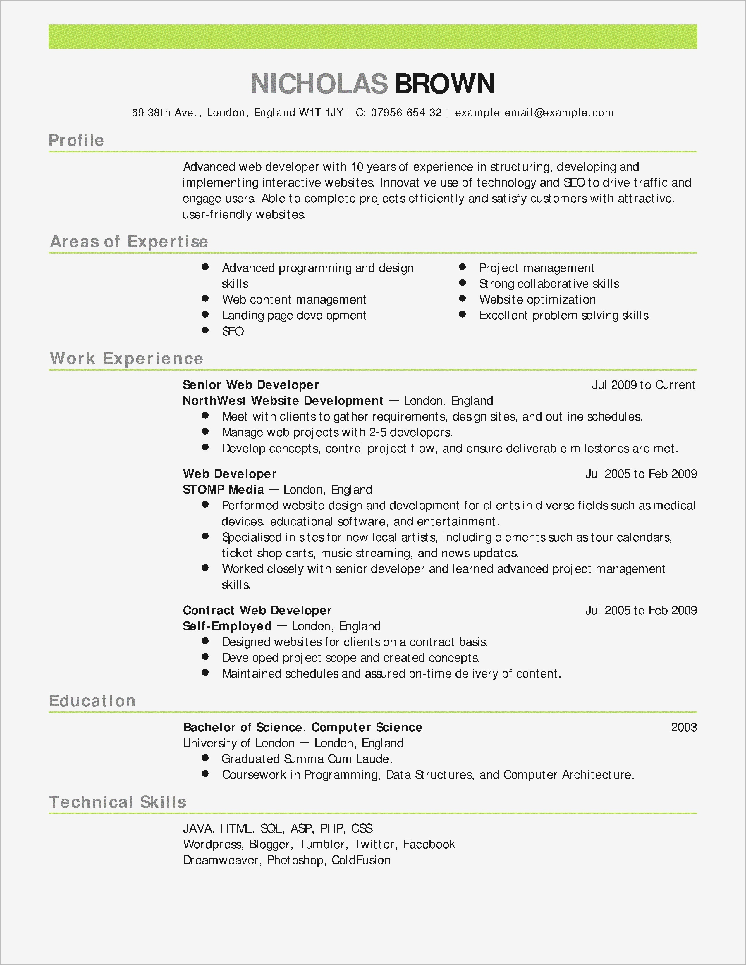 Letter Of Credit Template - Lovely Technical Design Document Template