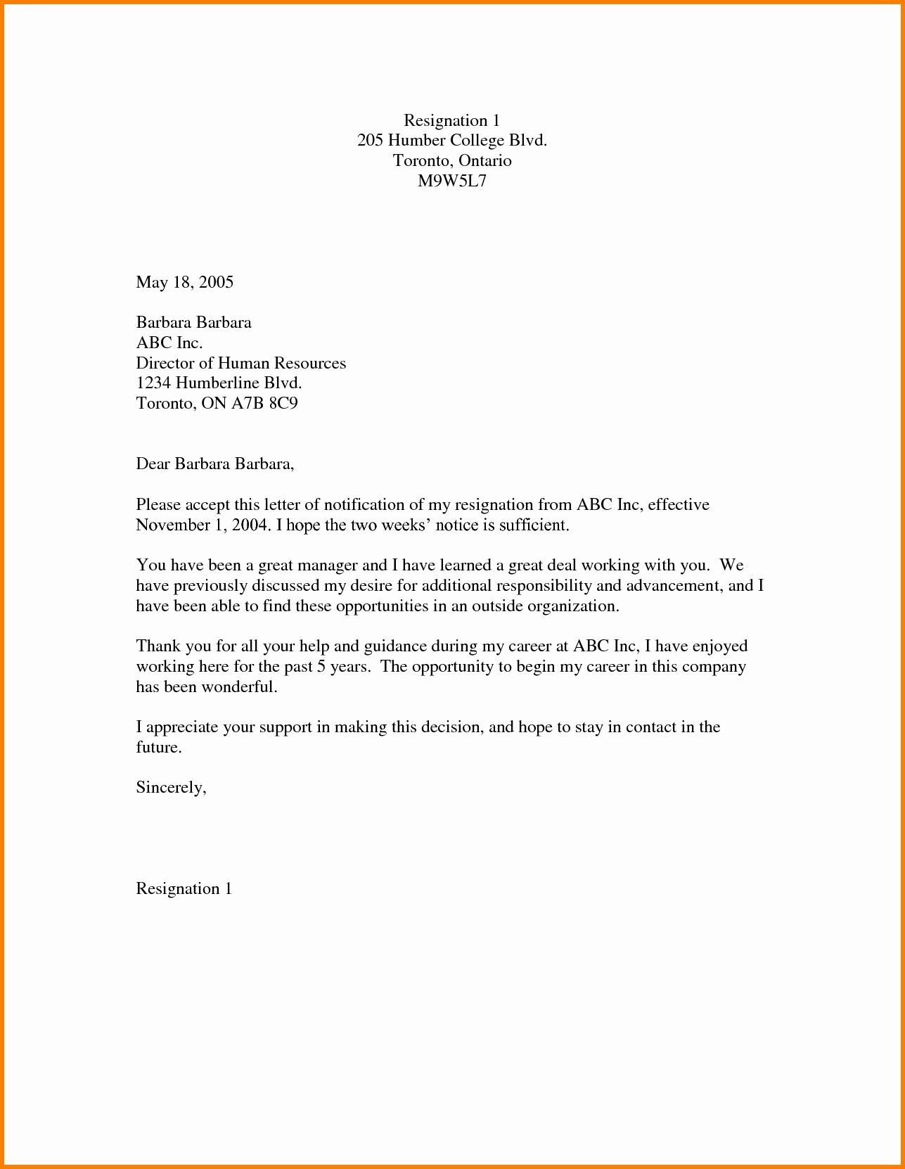 Notice Letter Template - Luxury Practice Writing Letters Template