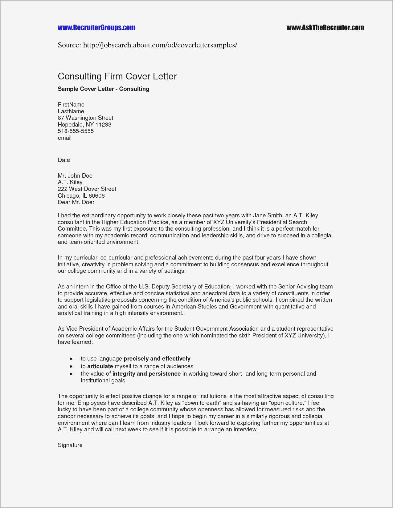 Microsoft Word Letter Of Recommendation Template - Microsoft Word Resume Template 2014 Simple Cover Letter Template