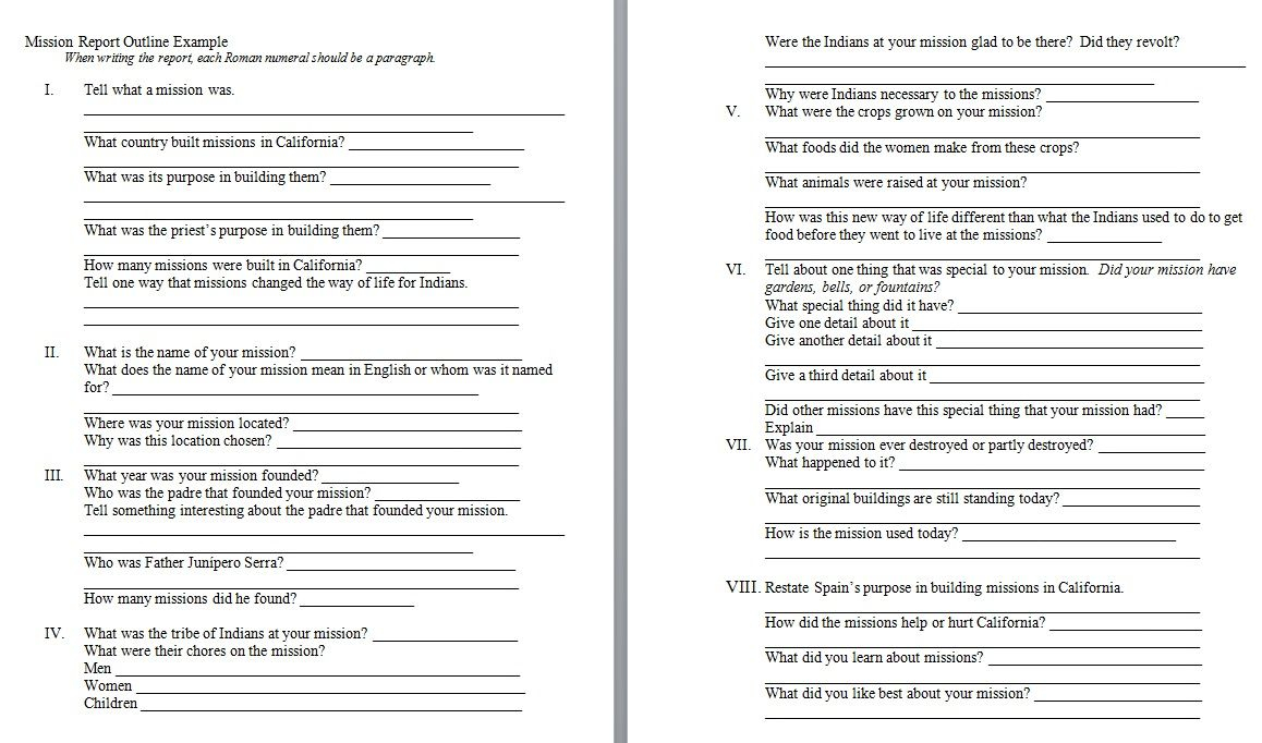 Missionary Letter Template - Mission Report Outline Example