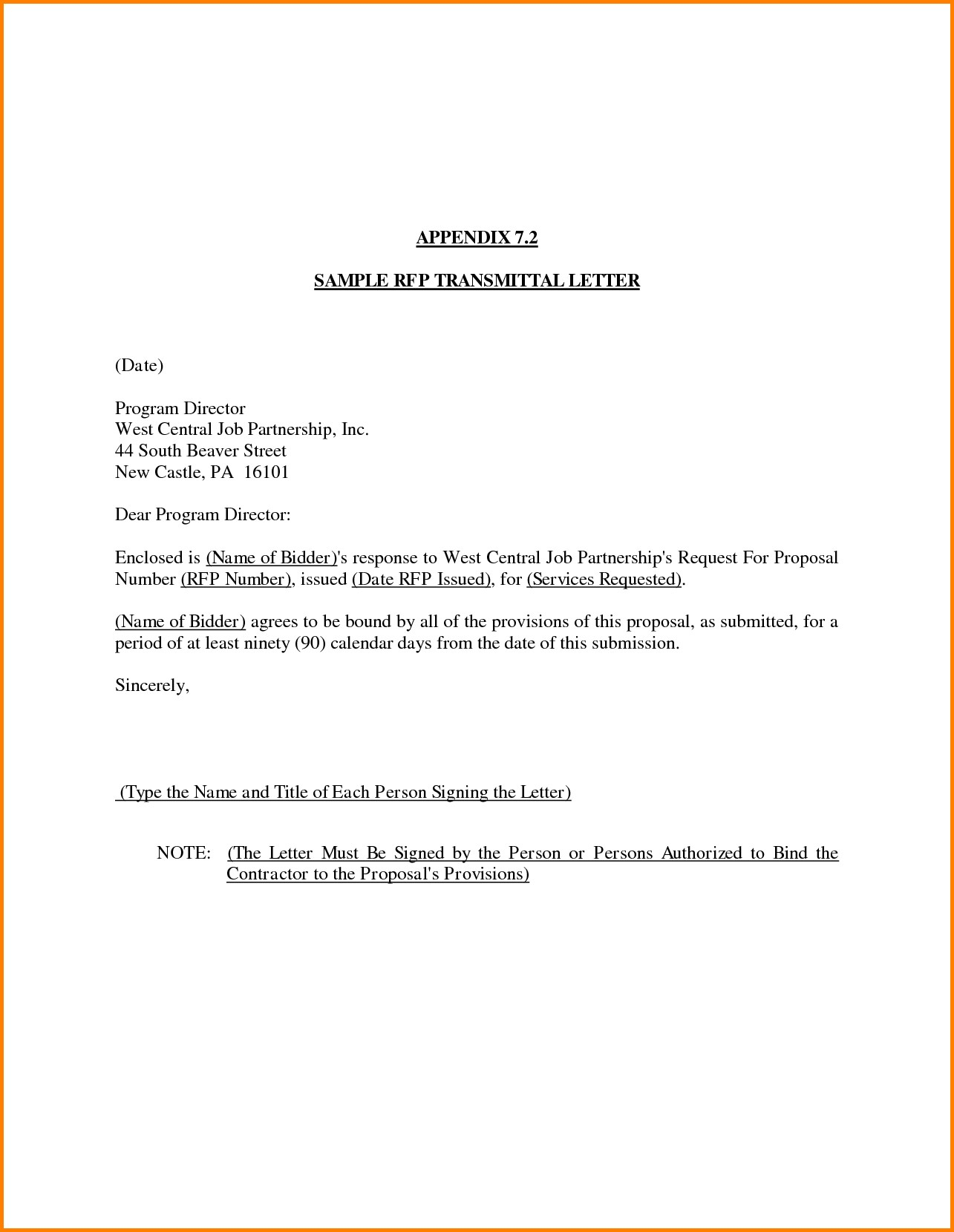 letter of transmittal template doc examples letter template collection