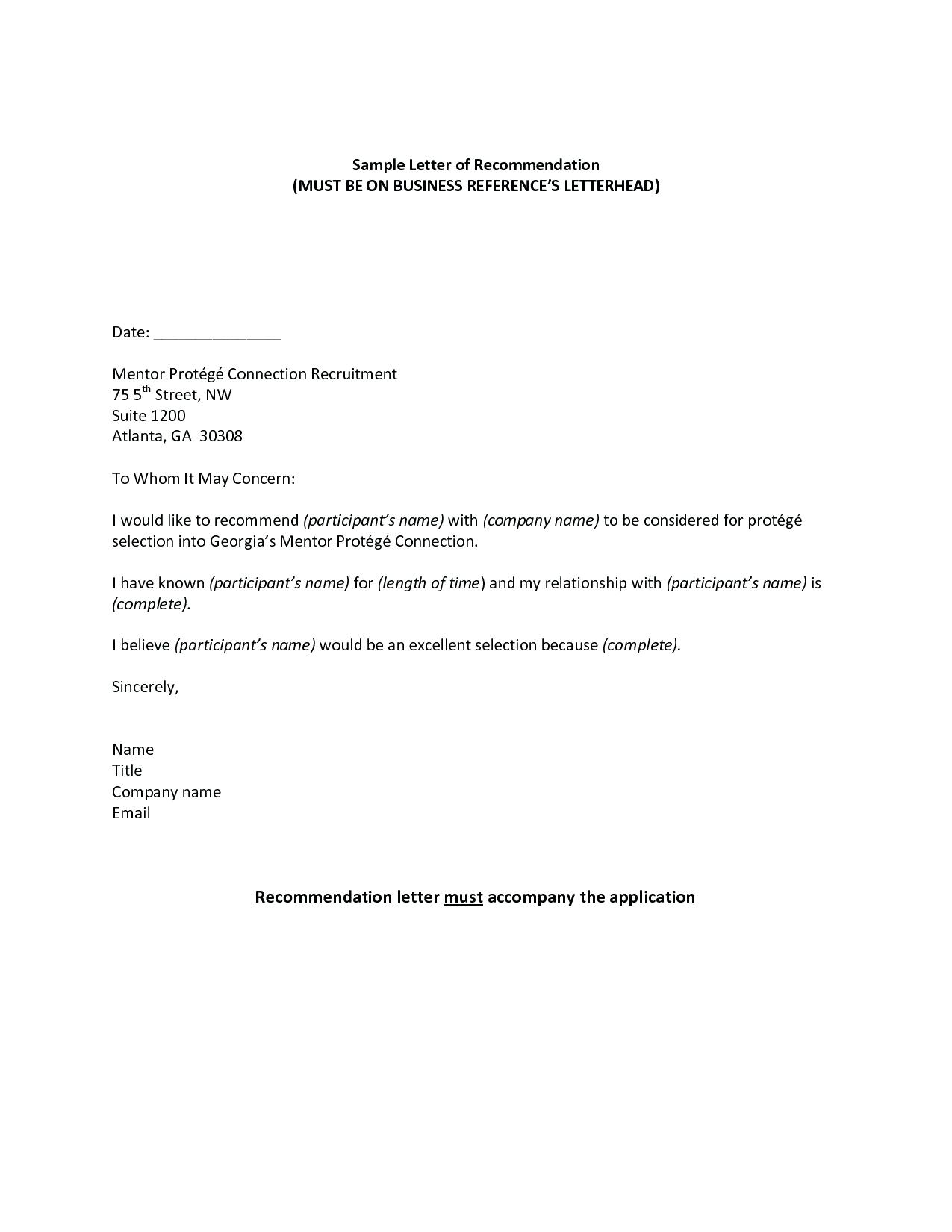 mortgage reference letter from employer template