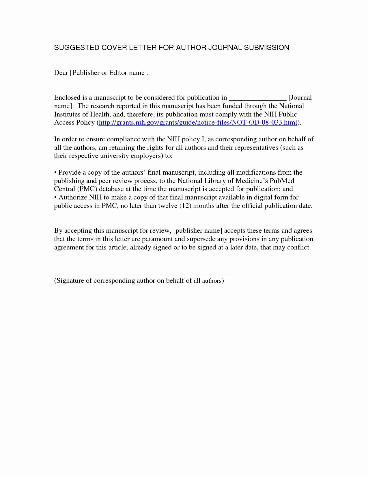Manuscript Cover Letter Template - Ms Access Templates 2013 Beautiful Cover Letter Templates Free