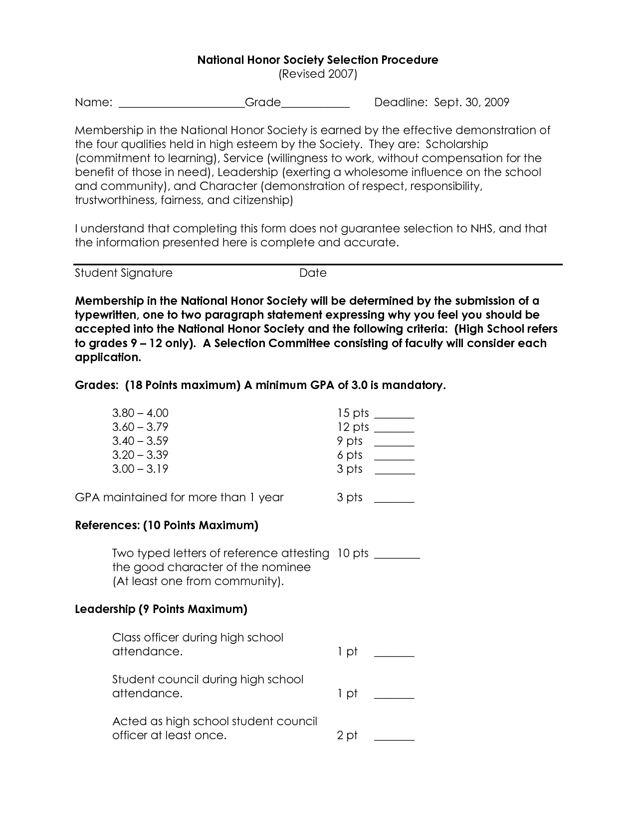Nhs Letter Of Recommendation Template - National Honor societydation Letter Example Personal Sample