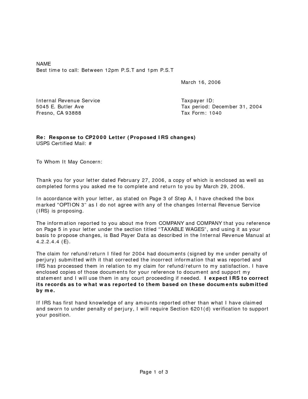 irs response letter template new sample response letter to irs notice fs34 documentaries for