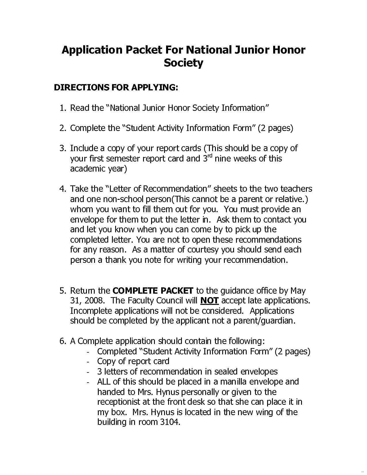 Nhs Letter Of Recommendation Template - Nhs Appeal Letter format New National Honor society Letter Re
