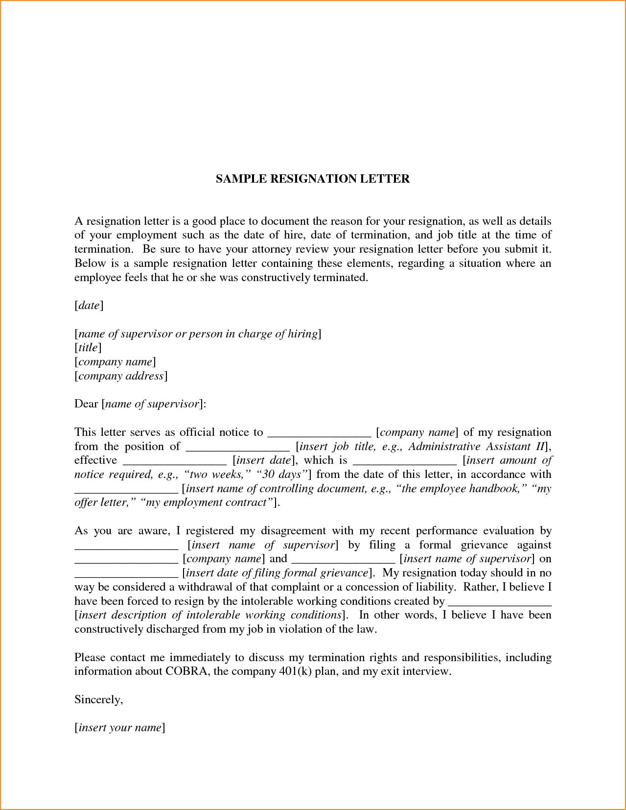 Letter Of Resignation Nursing Template - Nursing Job Resignation Letter Valid Resignation Letter Nursing Job
