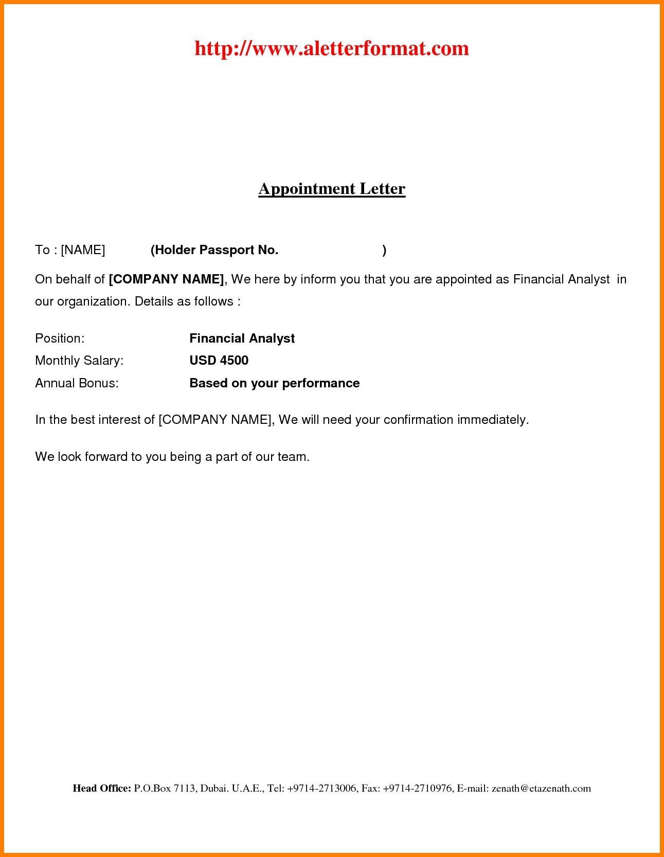 Job Offer Decline Letter Template - Offer Letter format In Dubai Acurnamedia