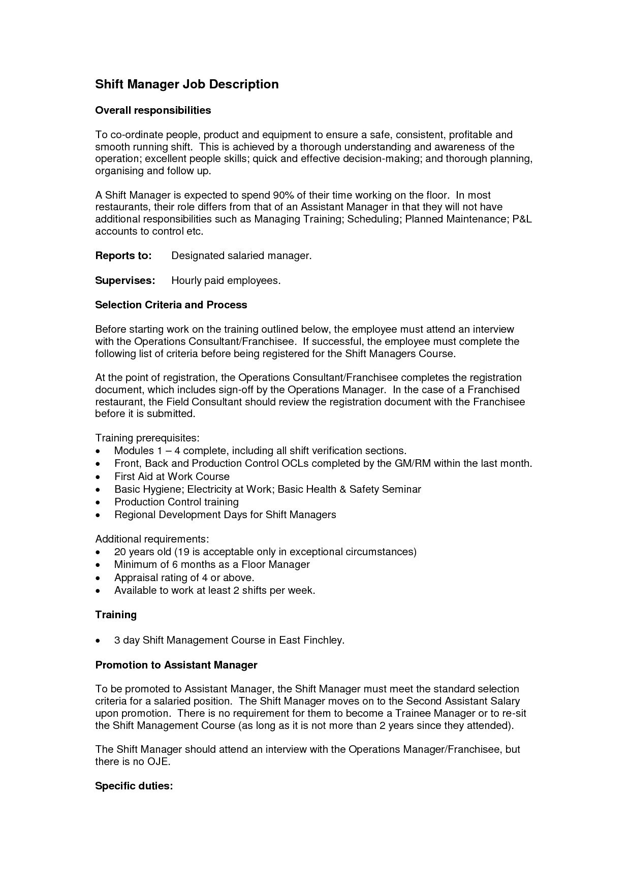 Operations Manager Cover Letter Template - Operations Manager Resume Beautiful New Programmer Resume Lovely