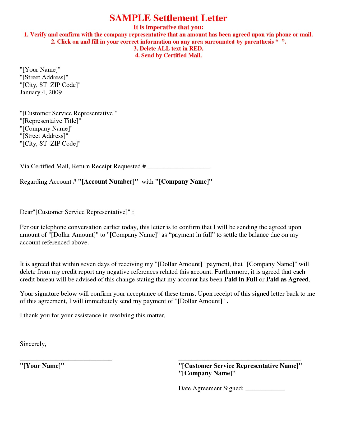 Settlement Agreement Letter Template - Payment Agreement Letter format Fresh Contract Letter Template