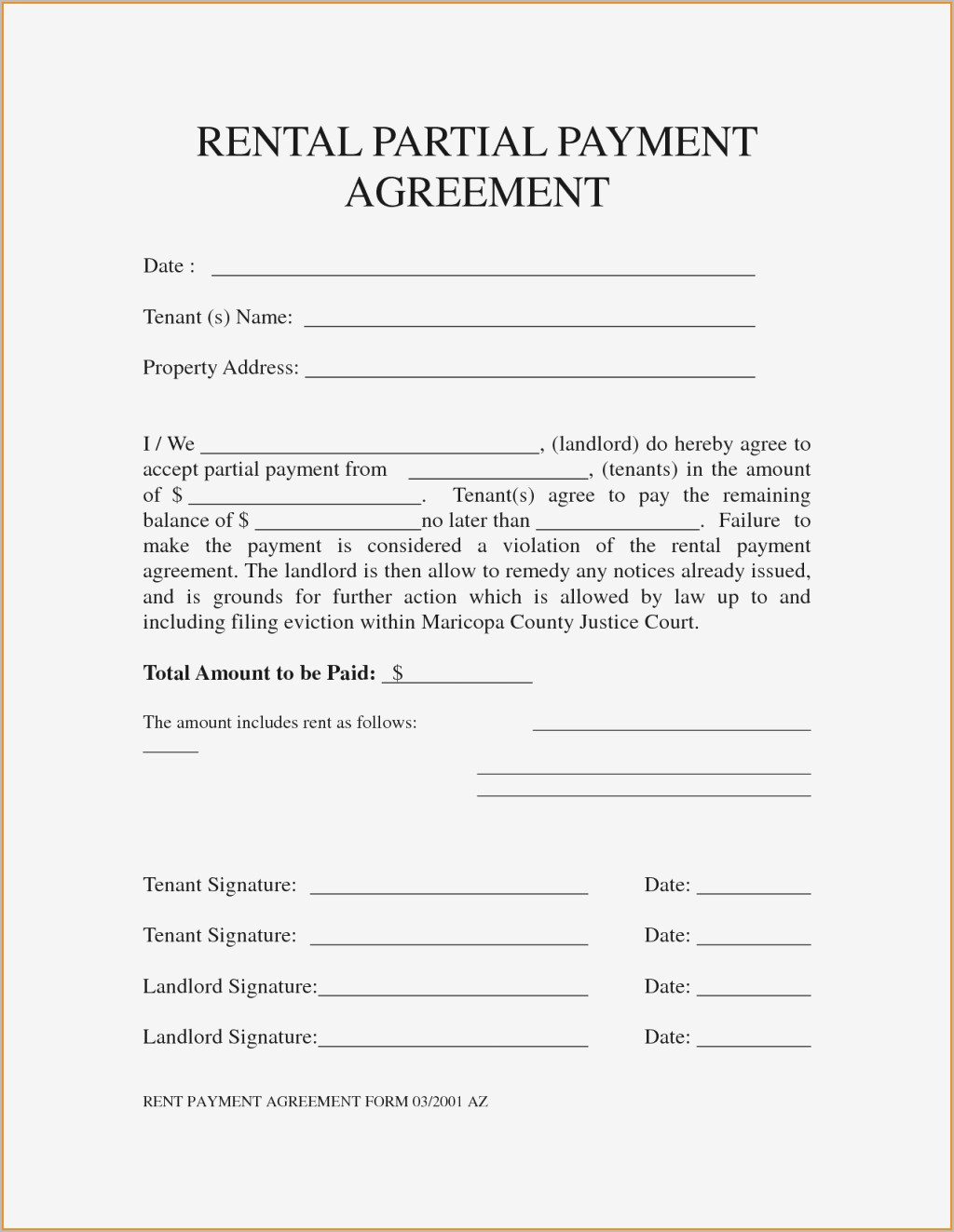 Payment Plan Proposal Letter Template - Payment Plan Agreement Pdf format