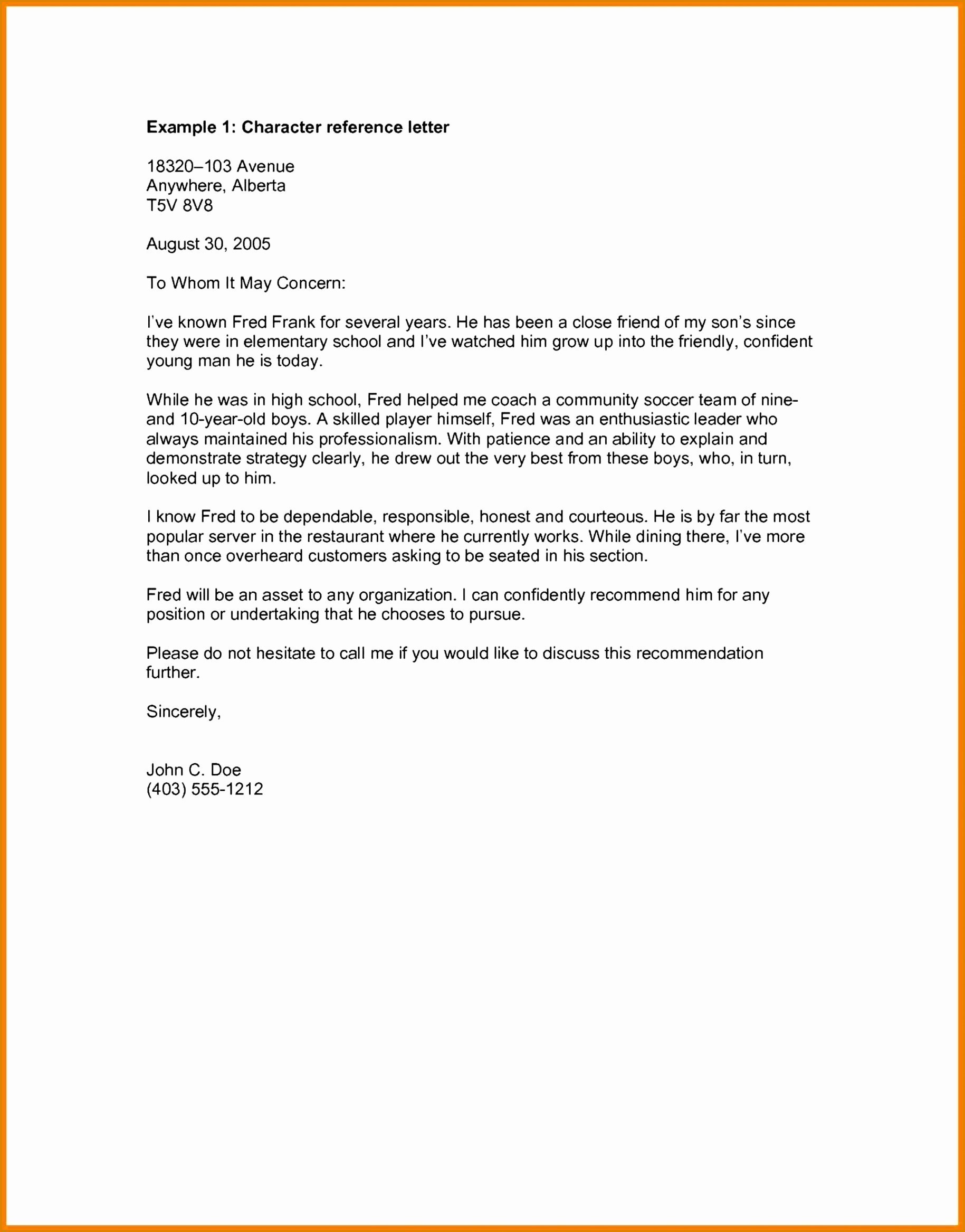 Landlord Reference Letter Template - Plaint Letter Template Refund Fresh Template References Letter