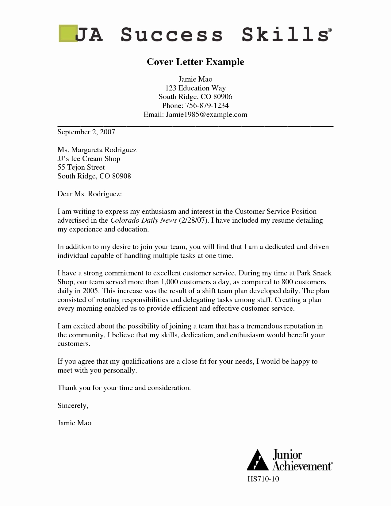 Will Serve Letter Template - Powerful Cover Letter Examples 25 Samples Cover Letters for Job Best