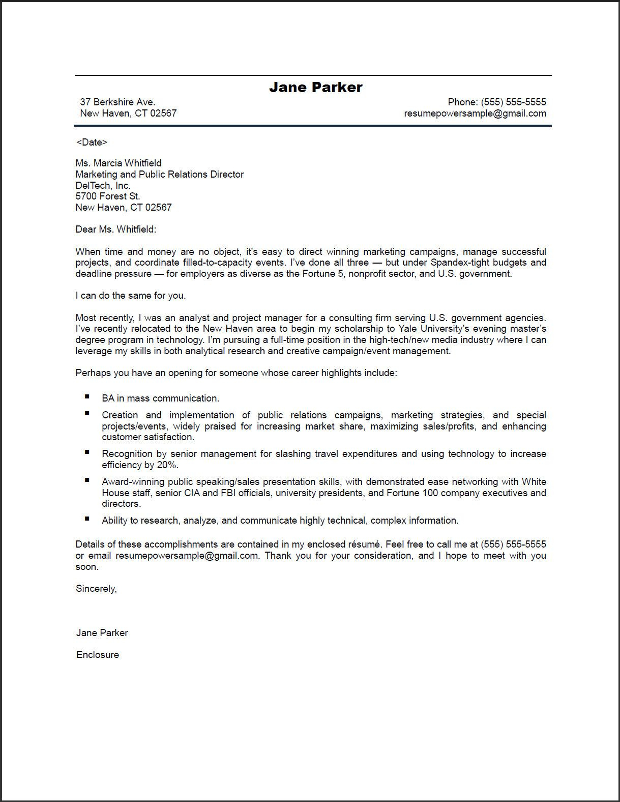 Long form Sales Letter Template - Pr Marketing Cover Letter Resumepower Inspirational