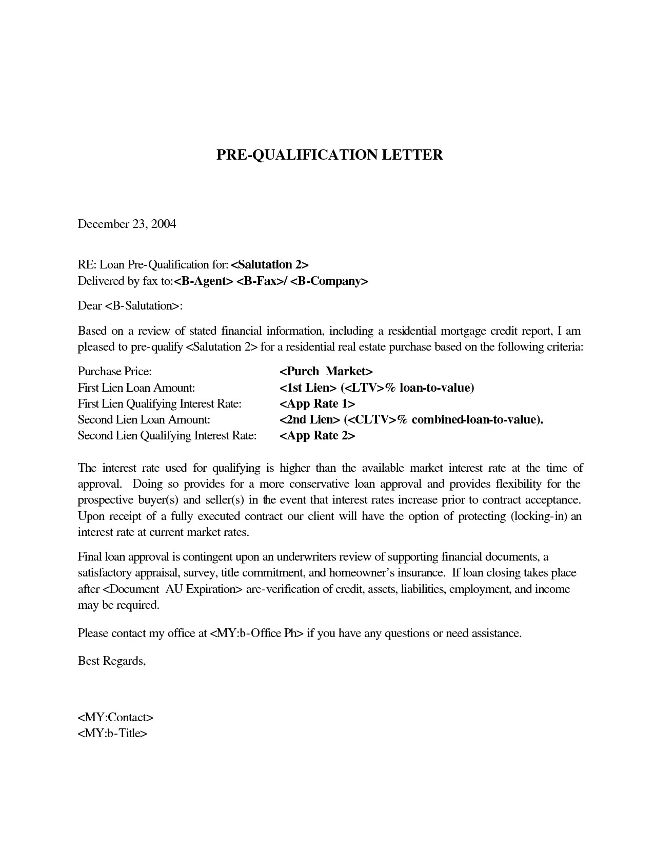 Mortgage Pre Qualification Letter Template - Pre Approval Letter Sample New Dental assistant Qualifications