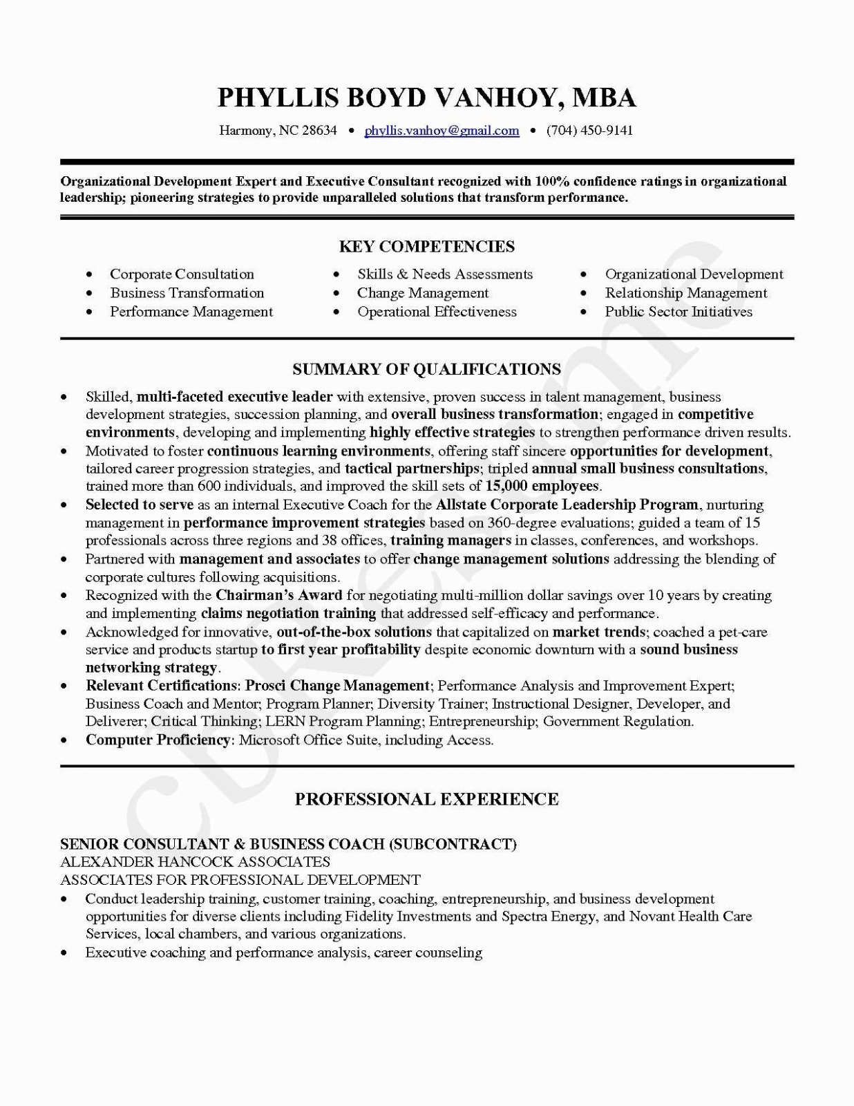 Change Of Leadership Letter Template - Professional Business Resume Templates — Resumes Project