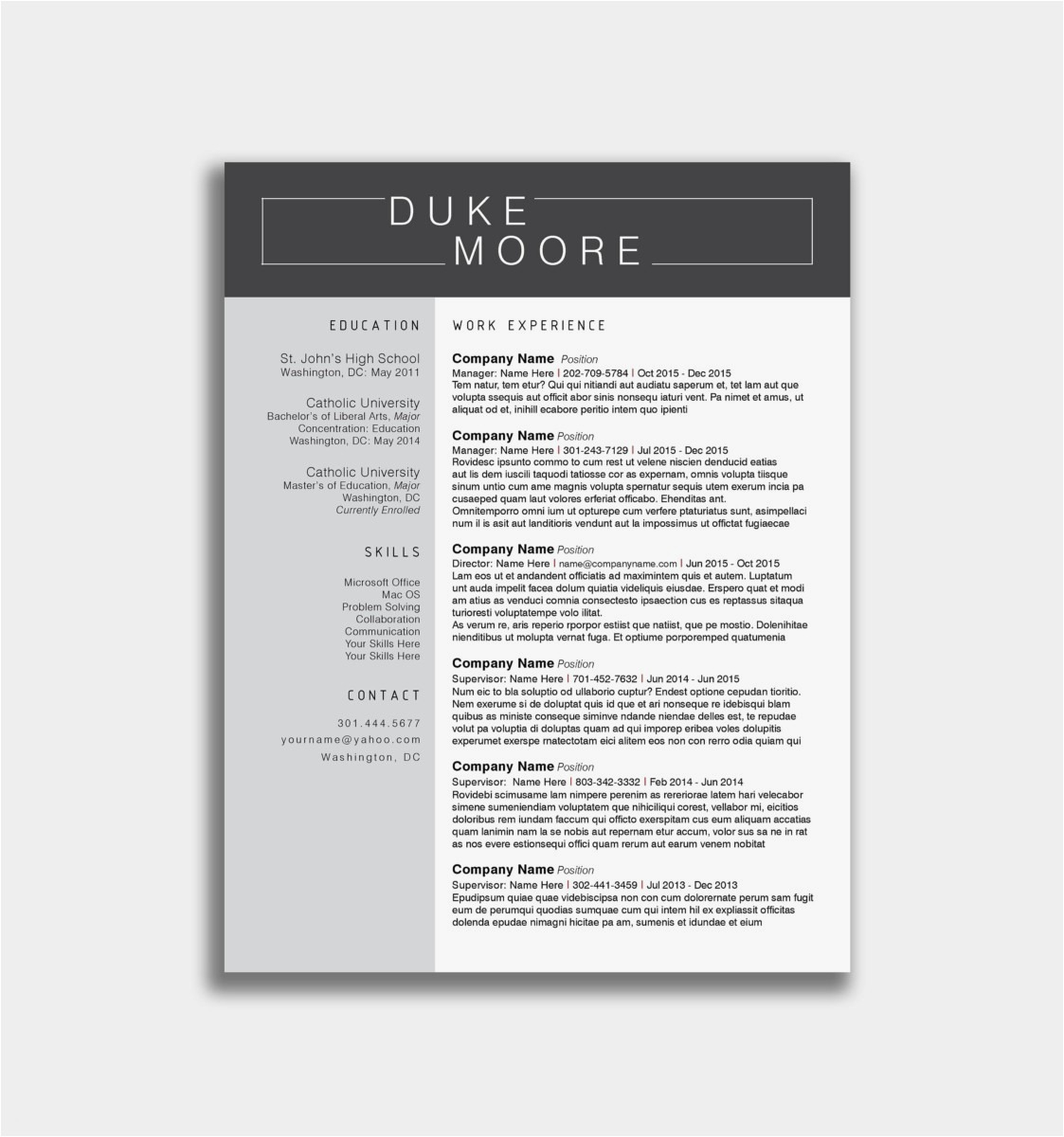 Fax Cover Letter Template Word - Professional Resume Cover Letter Example Professional Resume