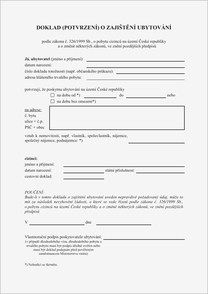 Notarized Letter Template for Residency - Proof Residency Letter Sample Lovely Printable Notarized Letter