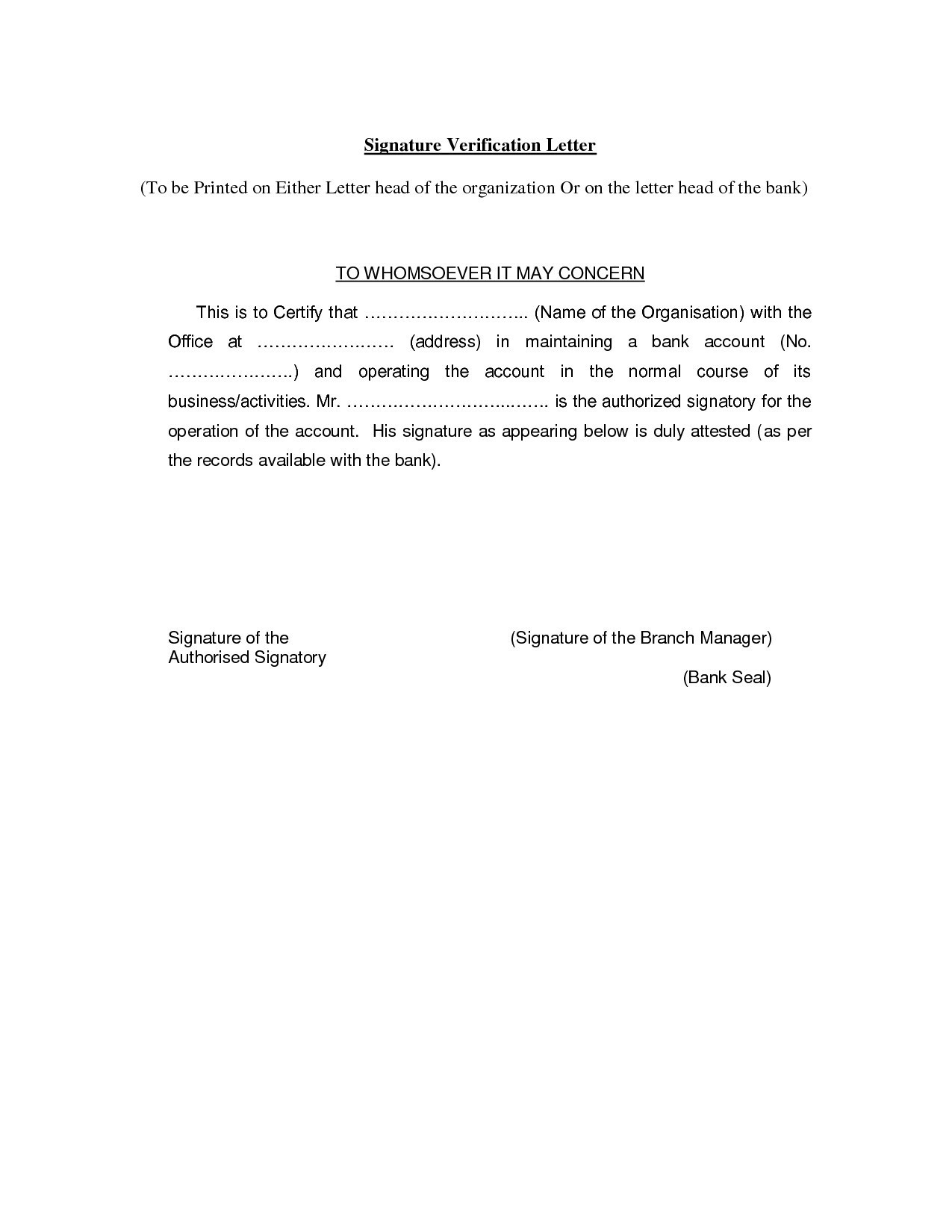 Proof Of Residency Letter Template Word Collection | Letter