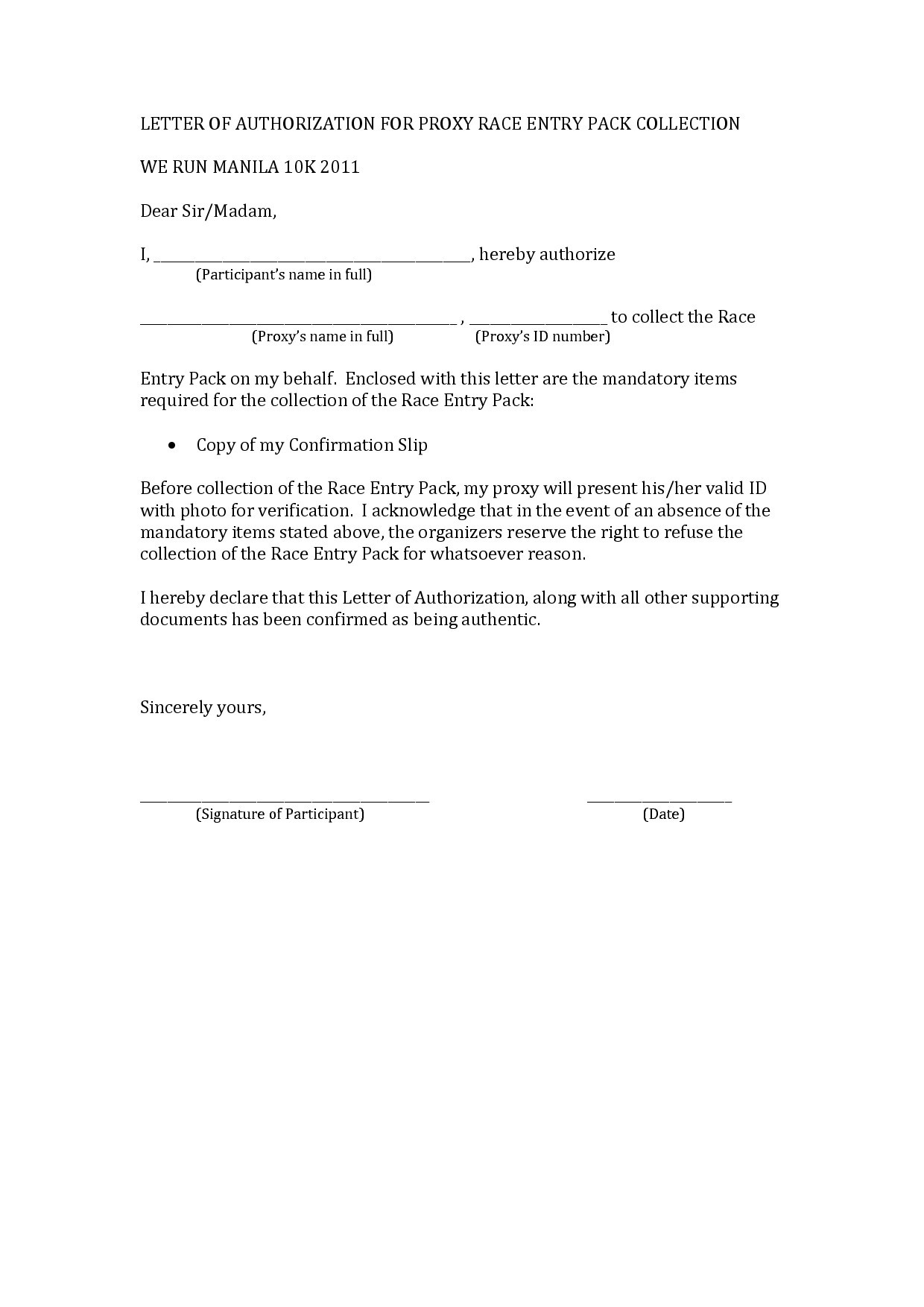 Proxy Letter Template - Proxy Letter Example Fresh 29 Personal Proxy Letter Template