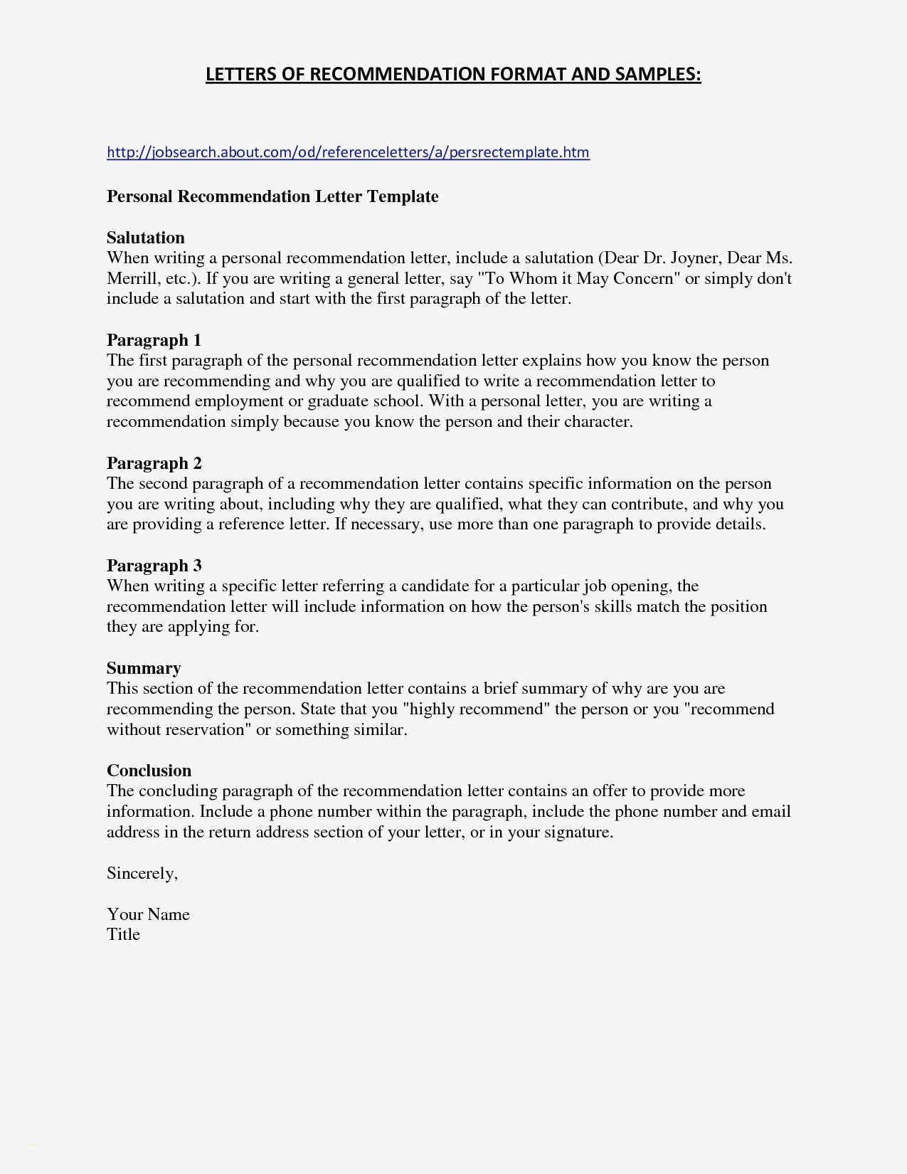 Business Recommendation Letter Template - Re Mendation Letter for A Pany Template