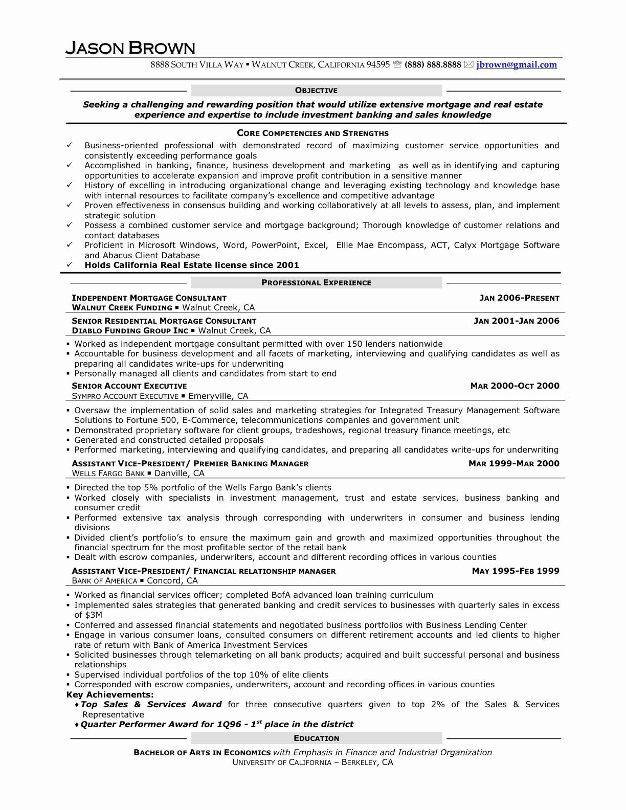 Investor Letter Template - Real Estate Investor Resume Roddyschrock