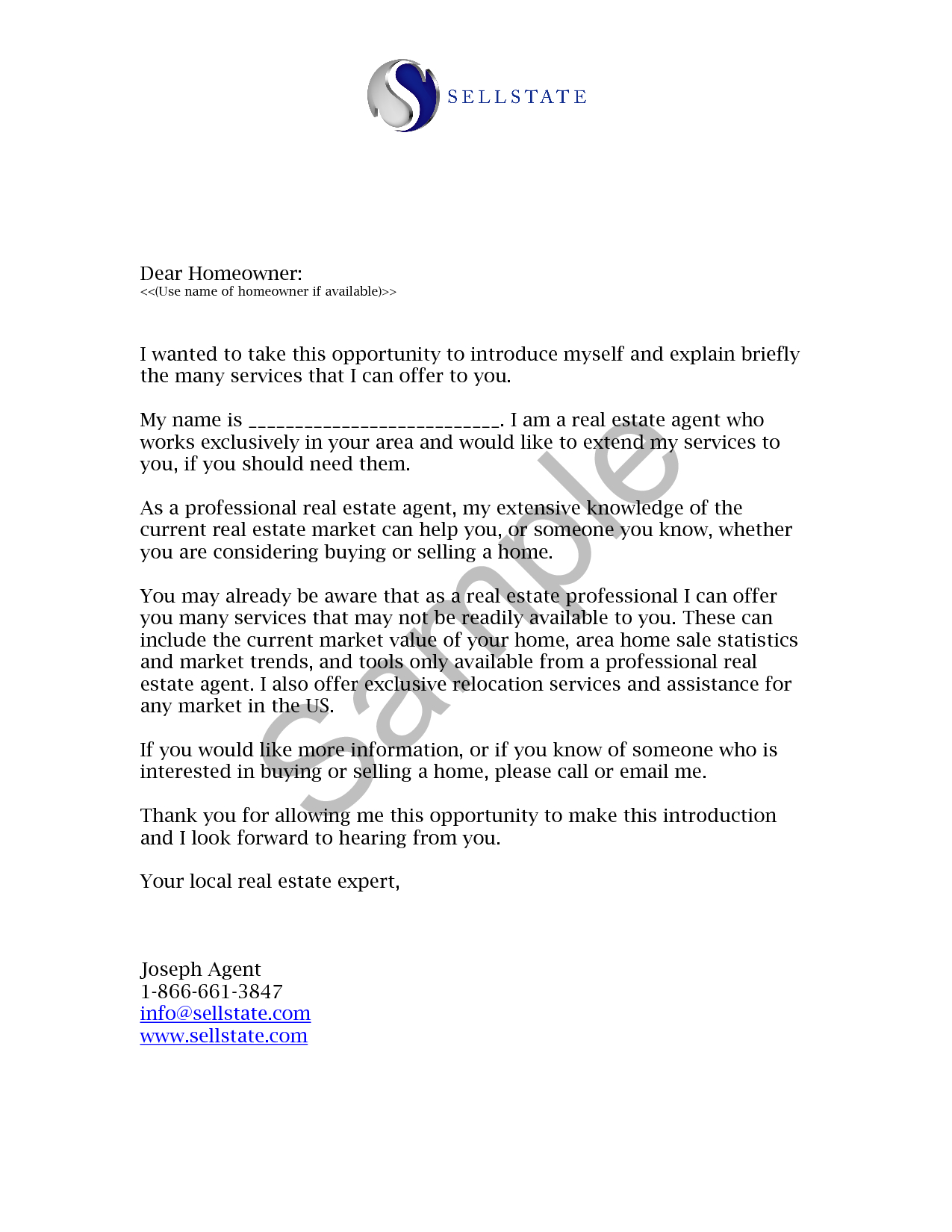 Fsbo Letter Template Collection Letter Template Collection