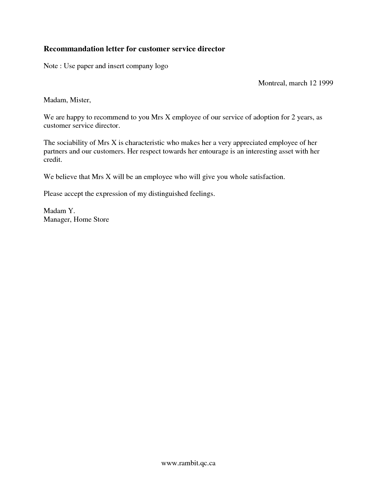 Customer Reference Letter Template - Reference Letter From Client Letter format formal Sample