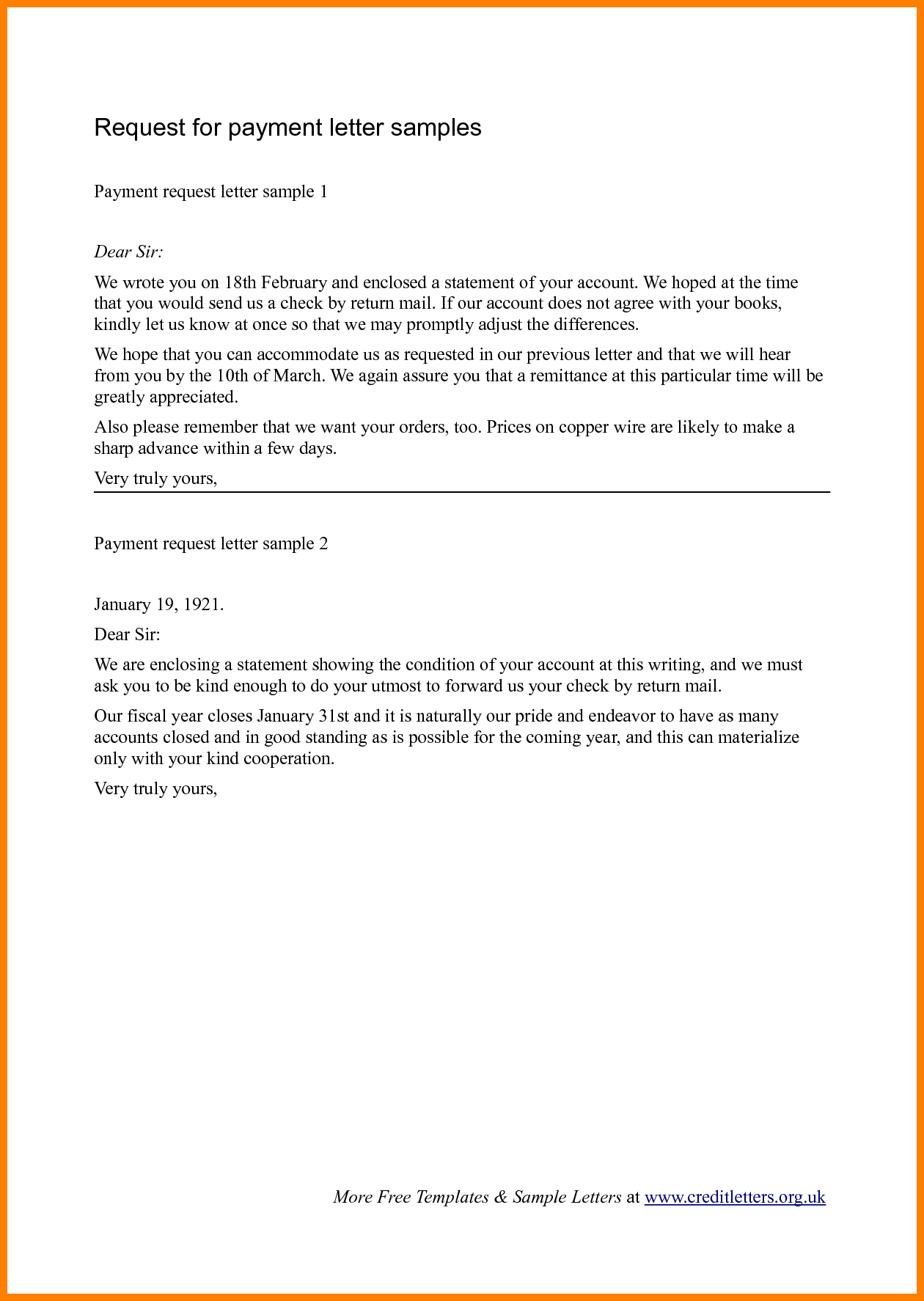 Refund Demand Letter Template - Requisition Letter format Request Letter for Advance Payment Against
