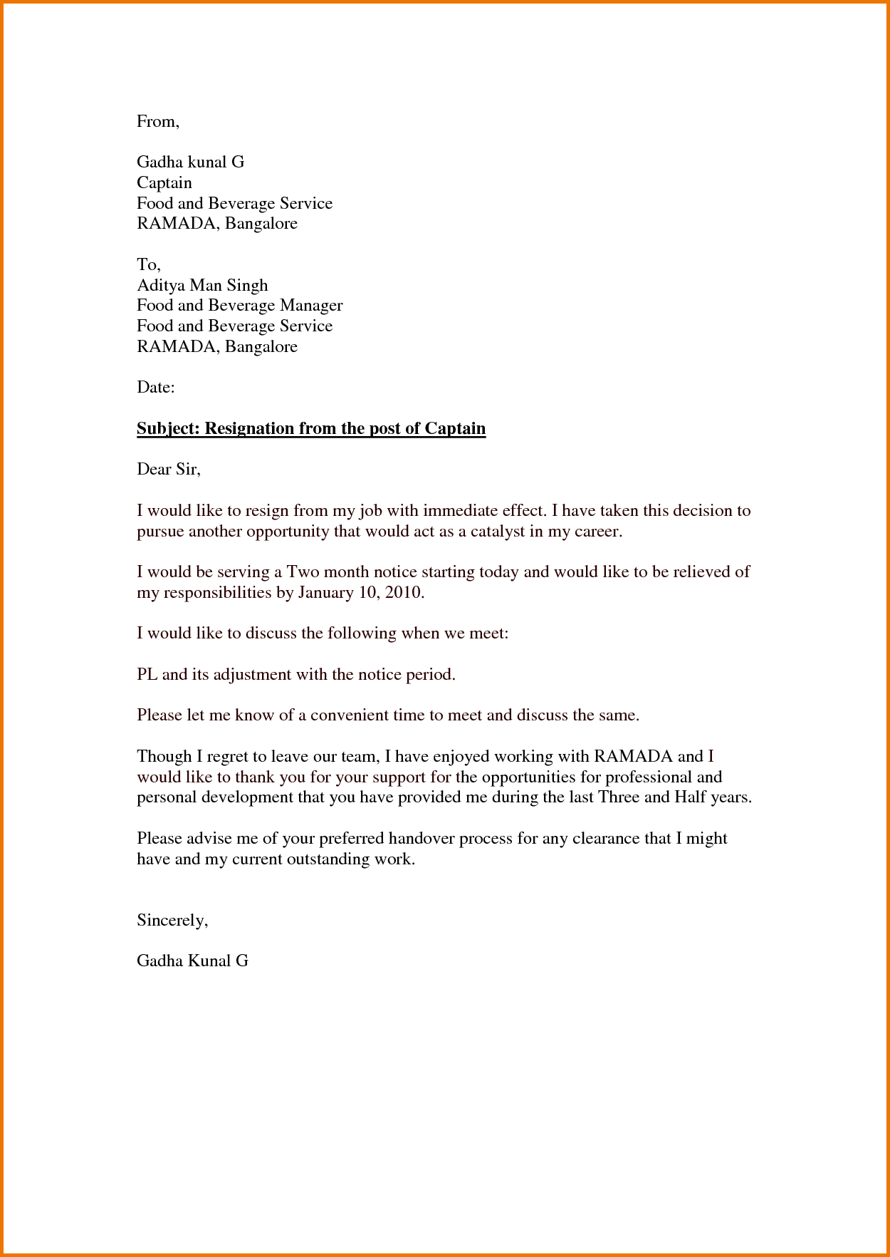 Immediate resignation letter template samples letter template immediate resignation letter template resignation letter simple artesumes how to make effective thecheapjerseys Gallery